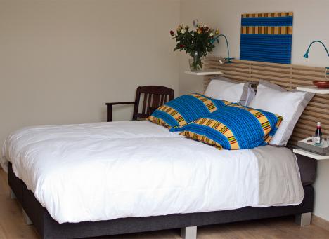 De blauwe kamer Sankofa